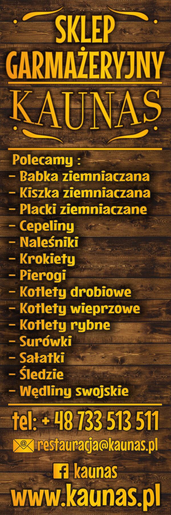 sklep garmażeryjny Sienkiewicza 81/3 lok 9